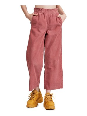 BDG urban outfitters paperbag corduroy trousers