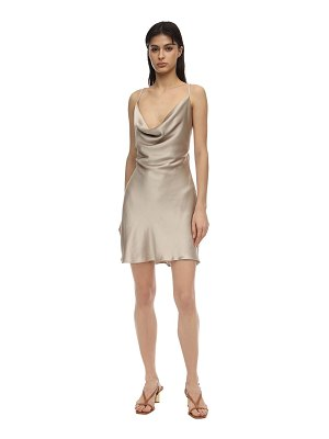 Bec & Bridge Pearl bay satin mini dress