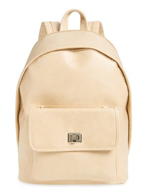 BEIS the 2-in-1 faux leather backpack