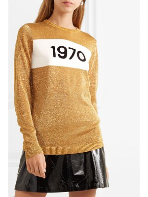 BELLA FREUD 1970 metallic knitted sweater