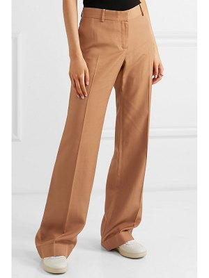 BELLA FREUD 1976 slub canvas flared pants