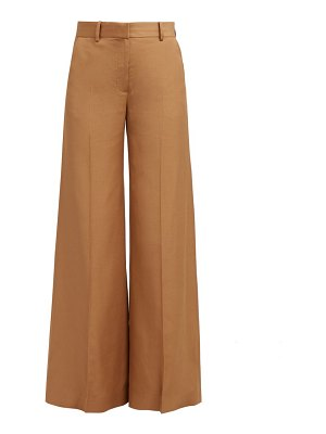 BELLA FREUD bianca wide leg trousers