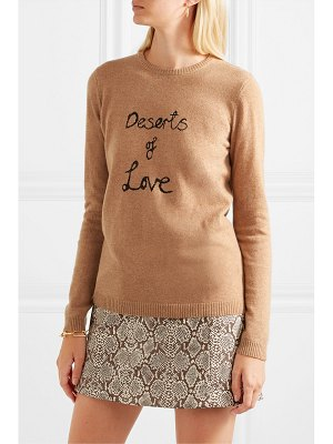 BELLA FREUD deserts of love cashmere-blend sweater