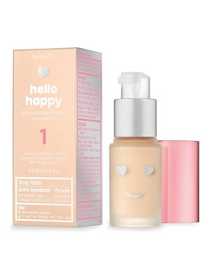 Benefit Cosmetics mini hello happy flawless brightening foundation