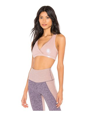 Beyond Yoga Pearlized Ride It Bra
