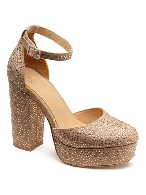 Bill Blass ellie platform pump