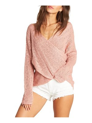 Billabong after glow knit crisscross top