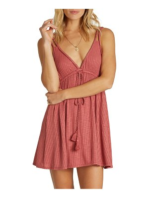 Billabong braided sun cover-up dress