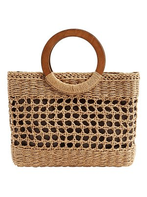 Billabong date night woven tote