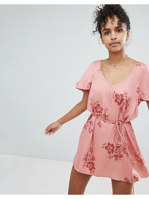 Billabong Floral Beach Dress