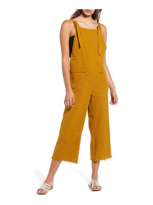 Billabong run wild crop jumpsuit
