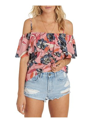 BILLABONG Summer Sunsets Cold Shoulder Top