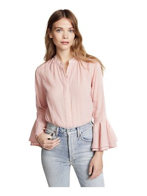 Birds of Paradis victoria bell sleeve top