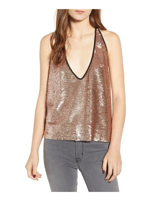 BISHOP AND YOUNG bishop + young daniela sequin racerback camisole
