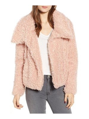 BISHOP AND YOUNG faux fur crop jacket