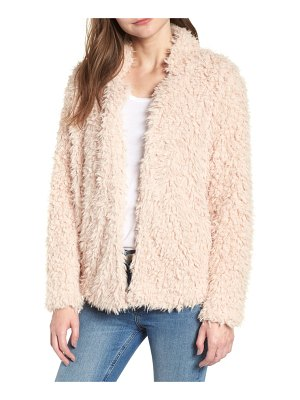 BISHOP AND YOUNG bishop + young faux fur crop jacket