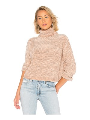 Blank NYC Chenille Turtleneck Sweater