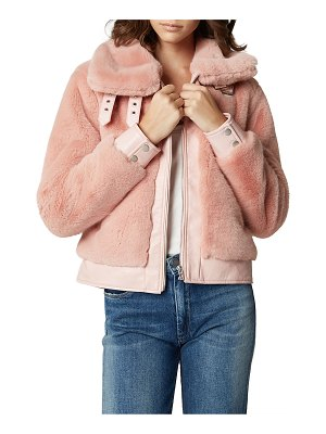 Blank NYC faux fur jacket