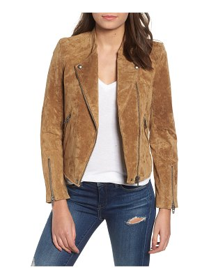 Blank NYC no limit suede moto jacket
