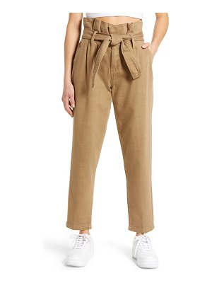 Blank NYC paperbag waist tapered pants