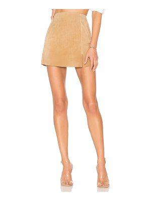 Blank NYC Suede Mini Skirt