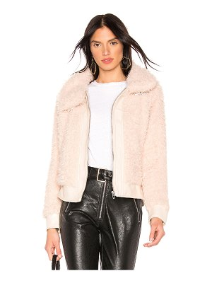 Blank NYC Teddy Crop Jacket