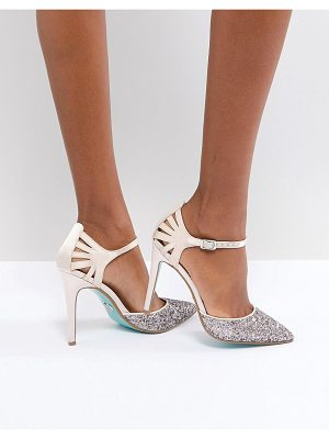 Blue By Betsey Johnson blue by betsy johnson blush avery heeled wedding shoes