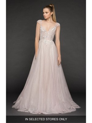 Blush by Hayley Paige amour tulle a-line gown