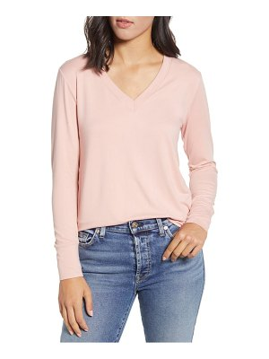 Bobeau v-neck butter top