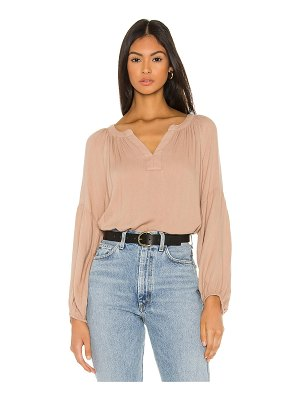 Bobi beach crepe blouse
