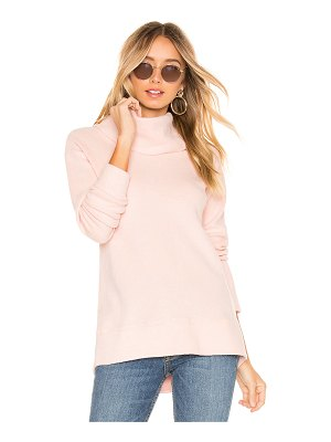 Bobi Cozy Fleece Cowl Neck Pullover