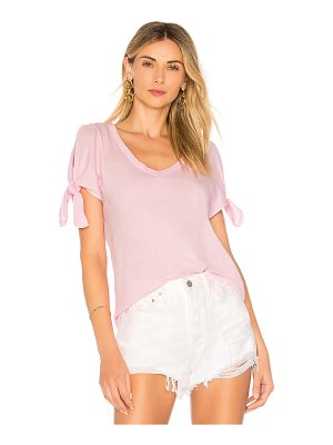 Bobi Lightweight Jersey Open Shoulder Tee