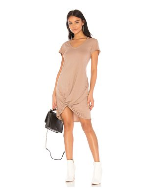 BOBI Lightweight Jersey Short Sleeve Dress