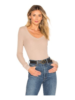 Bobi V Neck Thermal Tee