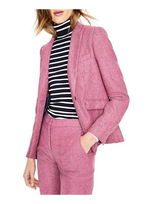 BODEN british tweed wool blazer
