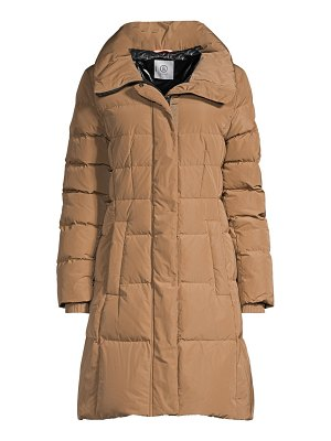 Bogner cleo-d longline hooded down coat