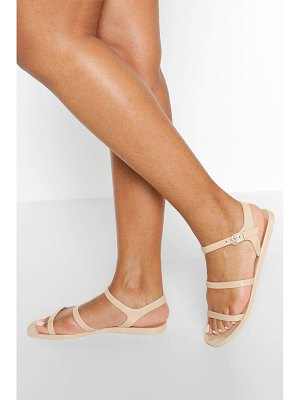 Boohoo 3 Strap Jelly Sandals
