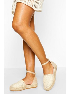 Boohoo Ankle Strap Espadrilles