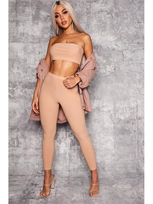 Boohoo High Waist Skinny Trouser