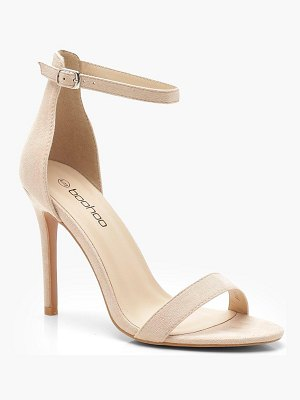 Boohoo Barely There Basic 2 Part Heels