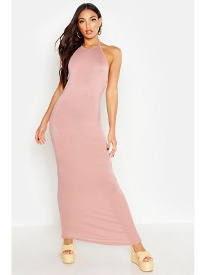 Boohoo Basic 90's Neck Maxi Dress