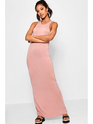 Boohoo Basic Racer Front Maxi Dress
