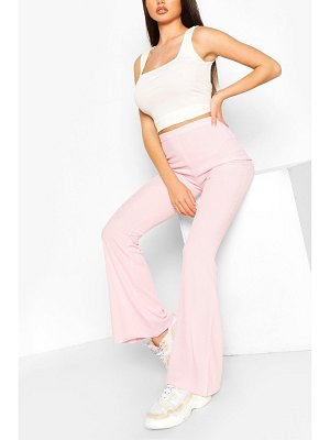 Boohoo Basic Ribbed Flare