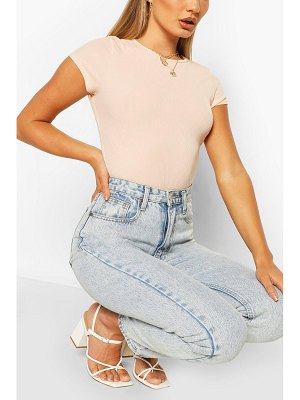 Boohoo Basic Ribbed T-Shirt
