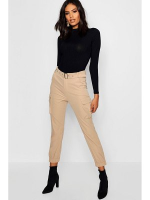 Boohoo Belted Cargo Pants