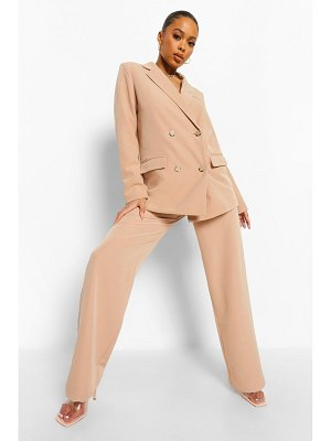 Boohoo Belted Relaxed Fit Pants