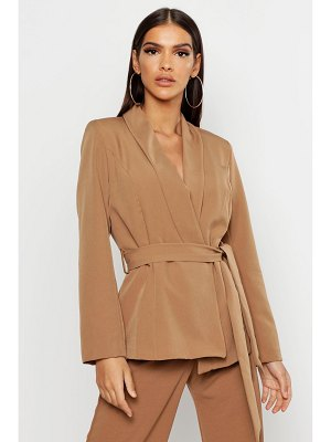 Boohoo Belted Tailored Blazer