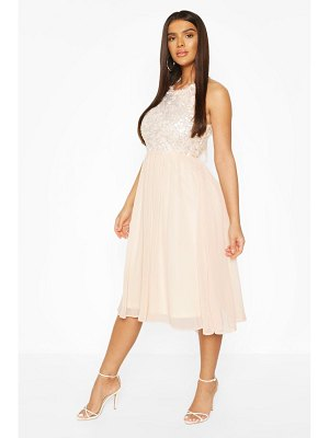 Boohoo Boohoo Occasion Sequin Midi Dress