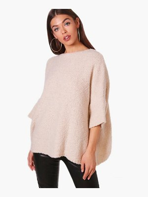 Boohoo Boucle Knit Jumper