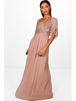 Boohoo Boutique  Embellished Maxi Dress